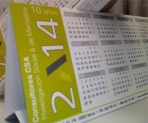 Calendario CSA 2014